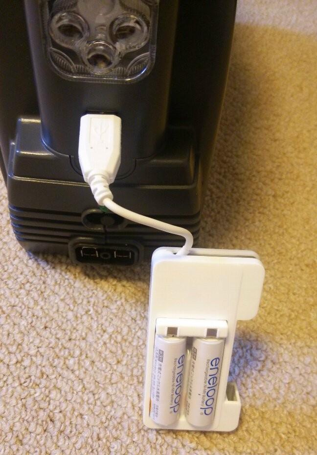 サブバッテリーを買ってみた(Meltec SG-3500LED)